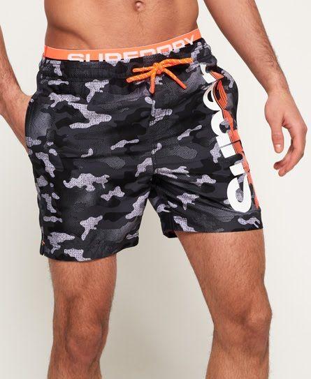 superdry mens swim shorts