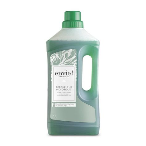 Deboucheur Biologique Envie 1 L Deboucheur Canalisation Vasque