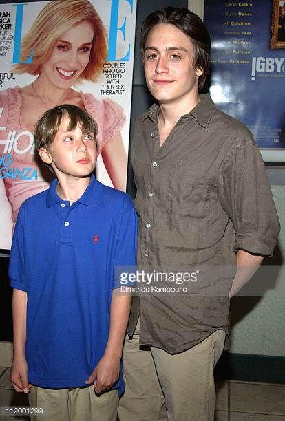 Kirean Culkin 20 And Rory Culkin 13 2002 Rory Culkin Macaulay Culkin Celebrity Crush