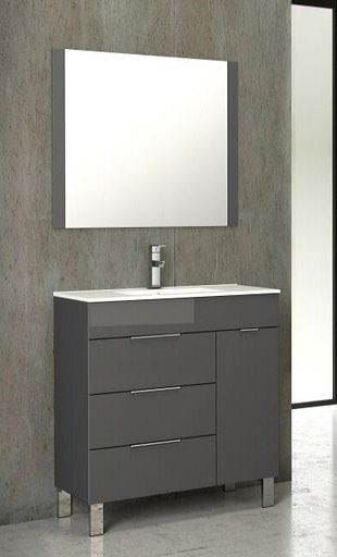Geminis 28 Single Sink Bathroom Vanity Bathroom Vanity Single Bathroom Vanity