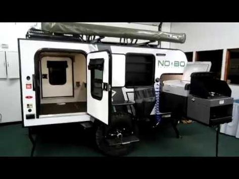 2018 No Boundaries 10.5 by Forestriver NOBO NB10.5 Trailer at Couchs RV Nation - YouTube