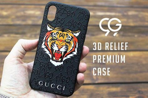 1d73d0f12c Gucci iPhone X case Tiger iPhone case designer iPhone 7 Plus case Gucci  tiger case Gucci