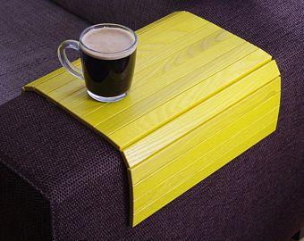 Sofa Tray Table White Tray Table Wooden Coffee Table Lap Sofa Handmade Natural Sofas Small Apartment Sofa