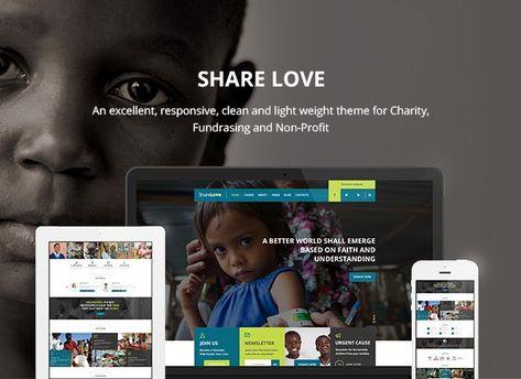 Charity ShareLove Fund Raising WordPress Theme #Fund, #ShareLove, #Charity, #Theme