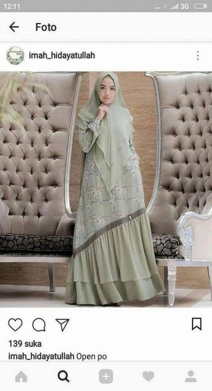 Baju Gamis Syar I 2020