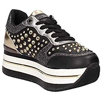 Guess FL5HAMELE12 Sneakers Frau Schwarz