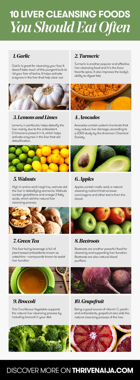 Top 10 Liver Cleansing Foods You Should Eat Often Thrivenaija Cleanse Recipes Liver Cleansing Foods Liver Detox Recipes