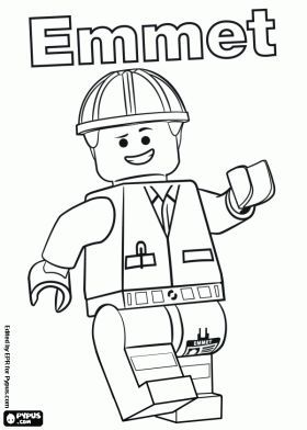 The Lego Movie Coloring Page Lego Wyldstyle Emmet Batman
