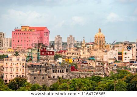 CIGAR CAPITAL of the WORLD Art Photo Print Poster Cuban Cityscape HAVANA CUBA