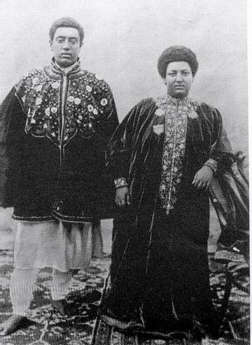 Lej Iyasu and his cousin Lady Menen Asfaw   African royalty, History of  ethiopia, African diaspora
