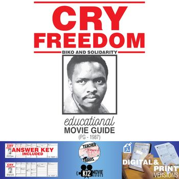Cry Freedom Movie Guide | Questions | Worksheet (PG - 1987)
