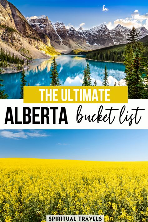45 Absolutely EPIC Alberta, Canada bucket list experiences