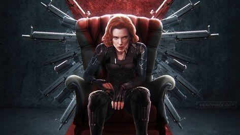 Black Widow New Art HD Wallpaper