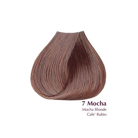 Satin 7 Mocha Mocha Blonde 3oz Mocha Color Hair Mocha Hair