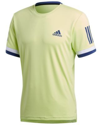 adidas Men's Club ClimaCool Tennis Shirt Yellow 2XL
