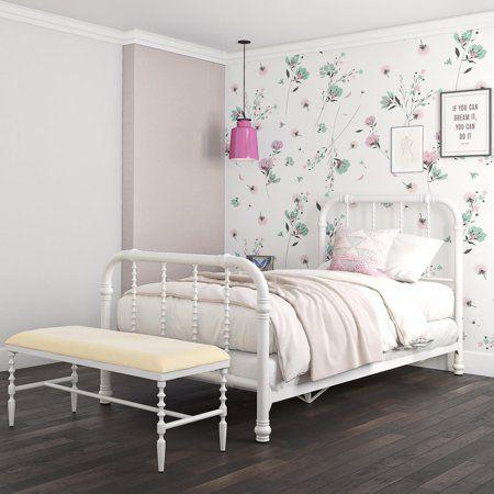 Dhp Jenny Lind Metal Bed Multiple Sizes Multiple Colors Contemporary Platform Bed Metal Beds Metal Bed Frame