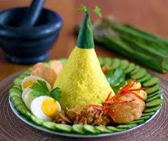 Nasi Kuning Recipe Food Asian Food Channel Cooking With Coconut Milk