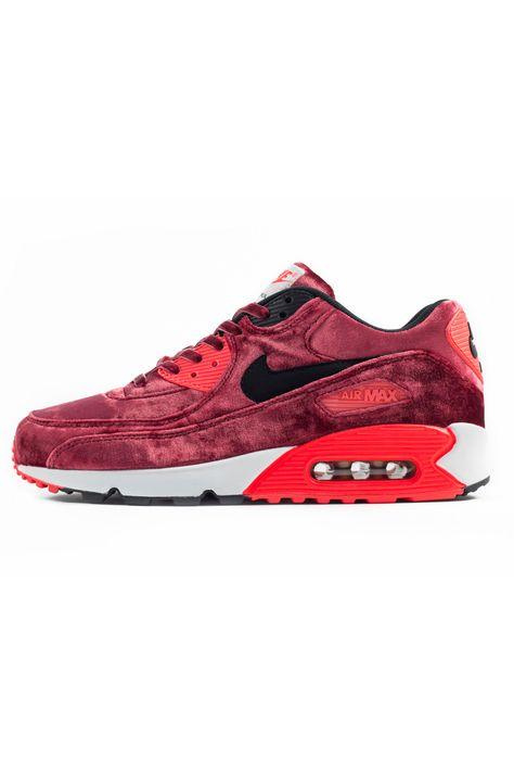 premium selection d0309 86844 nike air max 90 red velvet