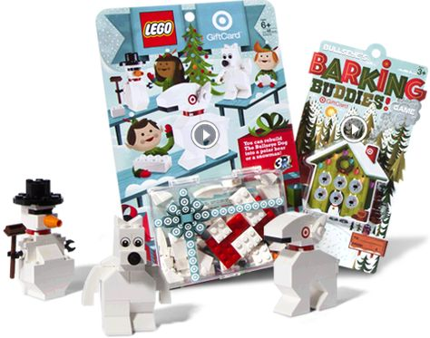 TARGET Christmas COLLECTIBLE LEGO Gift Card 31 Pieces Make ...