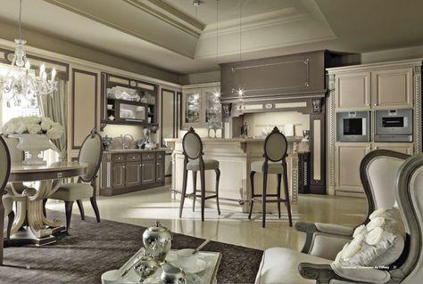 salone - cucina stile classico | Classic style | Pinterest | Luxury ...