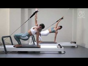 Ejercicios Pilates Con Maquina By Caviro Sport 1 4 Youtube Exercicios De Treino Saude E Fitness Pilates