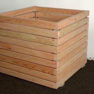 Komposter Aus Larchenholz Innovatives Stecksystem Novom Kompost Komposter Holz Wurmkiste