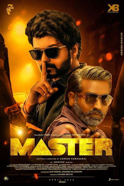 Best Fan Made Posters Of Thalapathy Vijay S Master Cute Actors Best Fan Vijay Actor