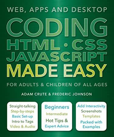 Free Download Coding Html Css Java Made Easy Author Adam Crute