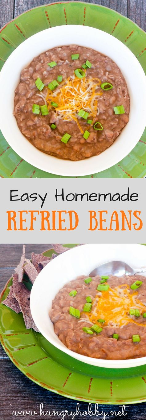 Homemade Vegan Refried Beans