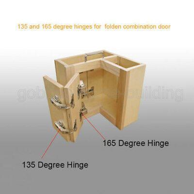 O 165 135 Corner Folded Combination Kitchen Cabinet Door Hinges Overlay In 2020 Kitchen Cabinet Hardware Kitchen Cabinets Hinges Kitchen Cabinets Door Hinges
