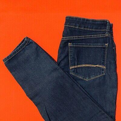 next 360 womens blue skinny jeans size 10r