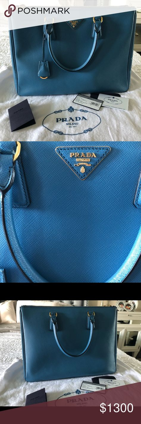 df88cb39a864 Authentic Prada saffiano tote Gently used saffiano satchel in great  condition. Comes with dust bag
