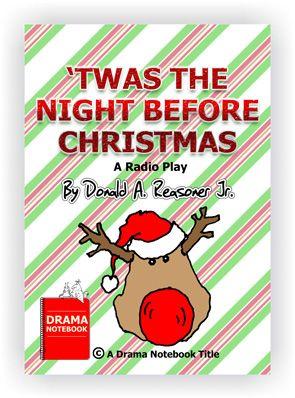 Funny Christmas Plays Free : funny, christmas, plays, Christmas, Plays, Schools-Short,, Funny, Skits, Skits,, Kids,, Night, Before