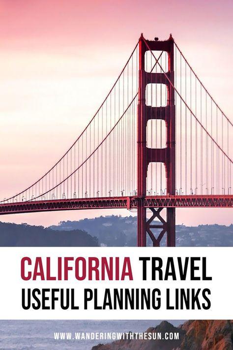 California Travel Useful Links