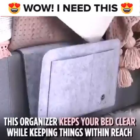😍 This Bedside Storage Pouch Is Amazing! 😍