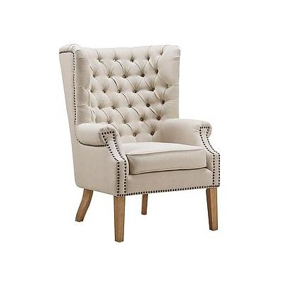 Abe Linen Wing Arm Chair Wayfair Wing Chair Accent Chairs Chair