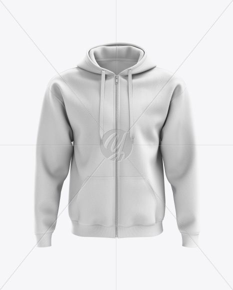 Download Men S Full Zip Hoodie Mockup Front View In Apparel Mockups On Yellow Images Object Mockups Clothing Mockup Hoodie Mockup Full Zip Hoodie
