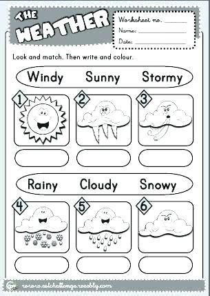 The Weather Worksheet 4 Version And Seasons Worksheets For Free Printable Weather Worksheets Weather Worksheets Seasons Worksheets English Worksheets For Kids