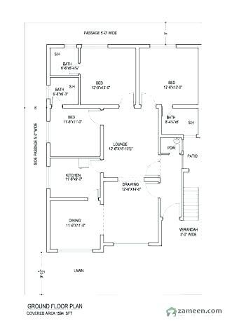 Plans Of Residential Buildings Plan Residential Building Image Result For House Plans Fire Safety Plan Resid 10 Marla House Plan 2bhk House Plan My House Plans