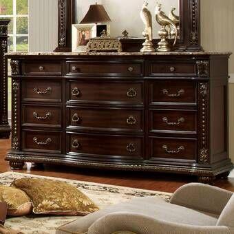 Staas 11 Drawer Dresser 12 Drawer Dresser 9 Drawer Dresser Dresser Drawers