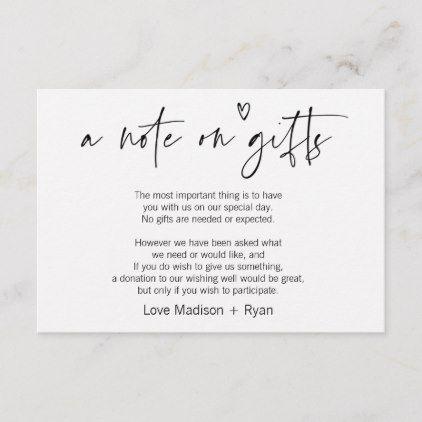 Wishing Well Wedding Invitation Card