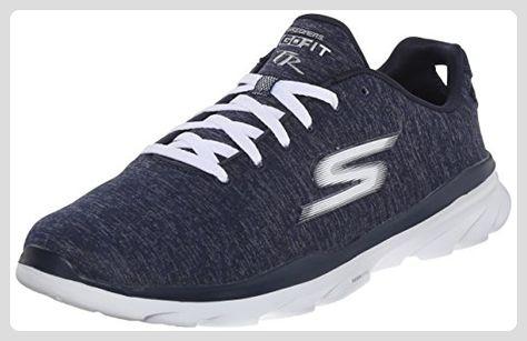 Skechers Sneaker blau Synthetik Damen Schuhe Flach Sport