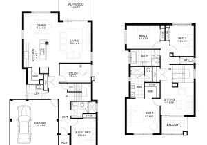 2 Story House Floor Plans With Measurements Two Storey House Floor Plan With Dimensions Ho Beach House Floor Plans House Floor Plans Floor Plan With Dimensions
