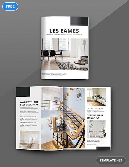 Free Interior Design Catalog Indesign Layout Interior Design