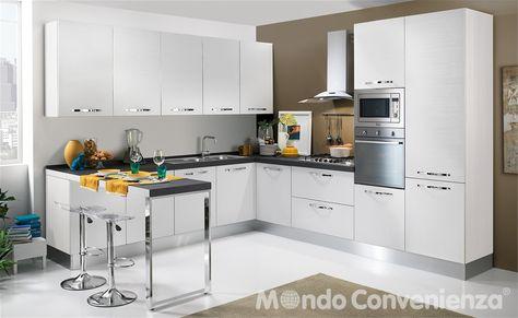 Cucina Stella Mondo Convenienza Colori.Cucina Componibile Stella Mondoconvenienza Composizione