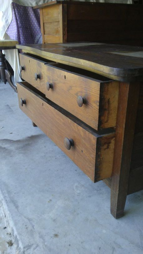 Old Vintage 3 Drawers Dresser For Sale In Austin Tx Dressers
