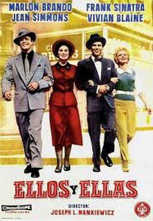 Ellos Y Ellas 1955 Español Descarga Cine Clasico Cine Musical Películas Musicales Peliculas Cine