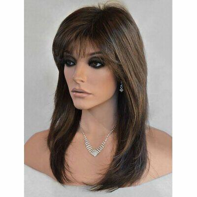 28 Ladies Ombre Blonde Long Curly Wigs Womens Natural Wavy Hair Cosplay Wig Uk Ebay Wig Hairstyles Long Face Hairstyles Long Hair Styles