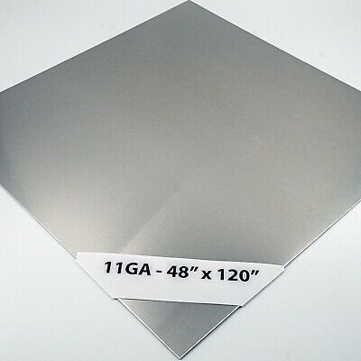 Ad Ebay Url 304 Stainless Steel Sheet 11ga 1 8 48 X 120 4ft X 10ft 4 Brushed In 2020 Stainless Steel Sheet Steel Sheet Metal Working