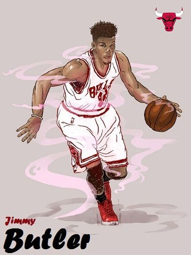 Jimmy Butler Sports Illustrations Art Sport Illustration Illustration Art